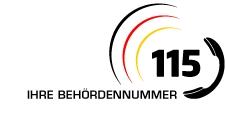 Logo der Behördennummer 115