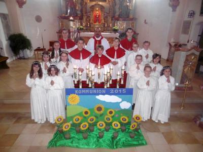 """Foto zur Meldung: """"Wie sich die Sonnenblume der Sonne zuwendet, wo wende ich mich Jesus zu"""""""