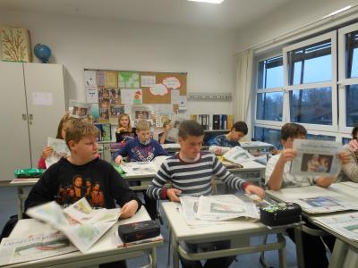 """Foto zur Meldung: """"ZISCH"""" - Zeitung in der Schule"""