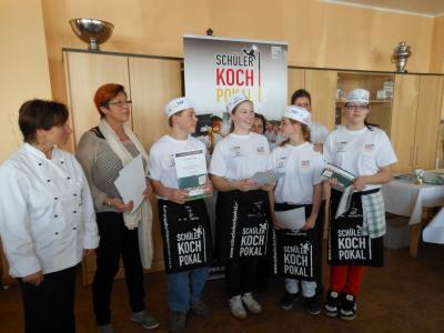 """Foto zur Meldung: 2.Platz beim Kochwettbewerb für  """"Überraschungspaket"""""""