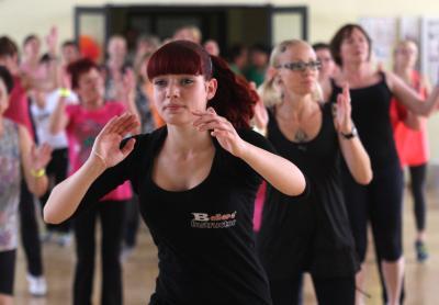Foto zur Meldung: 23. Aktionstag für Mädchen und Frauen im Sport in Ludwigsfelde