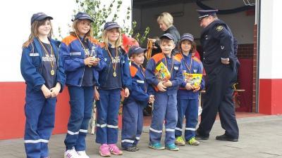 Foto zur Meldung: Tag der offenen Tür bei der Feuerwehr Rottleberode