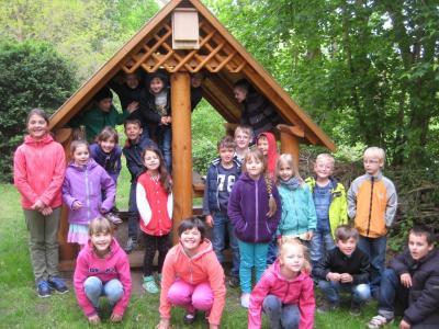 Foto zu Meldung: Fledermäuse für das grüne Klassenzimmer