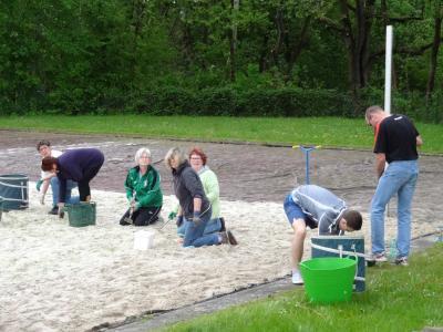 """Foto zur Meldung: """"Frühjahrsputz"""" auf dem Beachplatz für ALLE Mitglieder"""