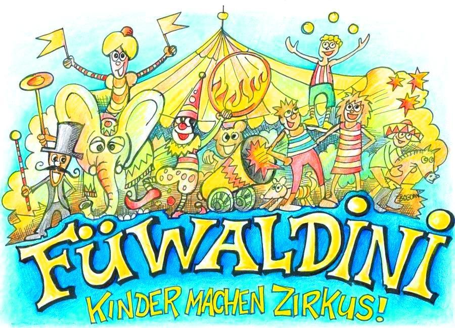 fürstenwalde/spree - füwaldini - kinder machen zirkus! herzliche, Einladungen