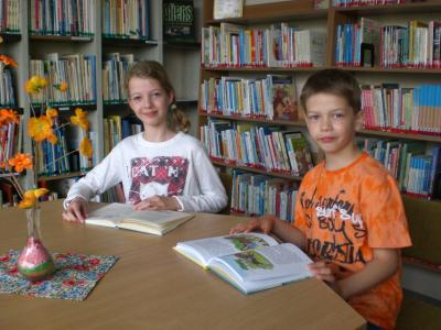 Foto zur Meldung: Vorlesewettbewerb Klasse 3 & 4