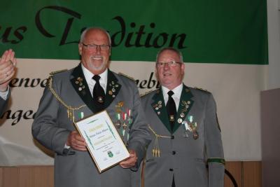 Foto zur Meldung: Auszeichnungen zum Vogelschießen