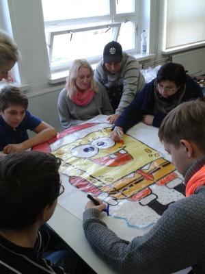 Foto zur Meldung: Gemeinsam mit der Jugendwerkstatt
