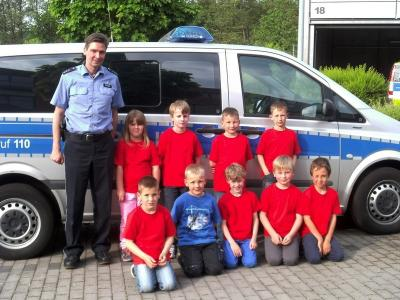 Vorschaubild zur Meldung: Besichtigung der Polizeistation Büdingen