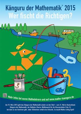 Vorschaubild zur Meldung: Känguru der Mathematik 2015: Preisverleihung