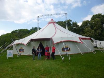 Foto zur Meldung: Zirkusprojekt im OT Hoym