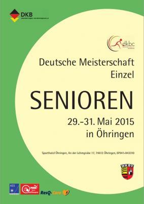 Foto zur Meldung: Deutsche Einzelmeisterschaften der Seniorinnen in Öhringen