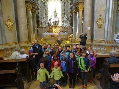 Foto zur Meldung: Kommunionausflug nach Kelheim und Kloster Weltenburg war Spitze
