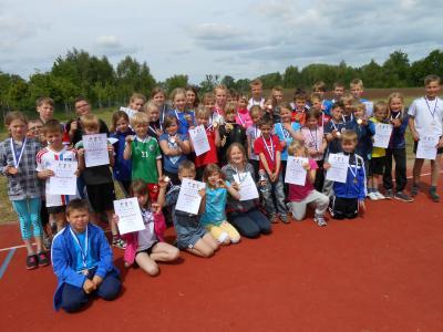 Foto zur Meldung: Sportfest am Kindertag