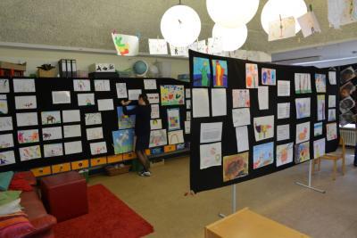 Vorschaubild zur Meldung: Kita: Vernissage ihrer Ausstellung