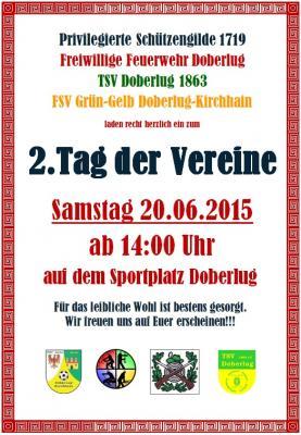 Foto zur Meldung: Tager der Vereine Doberlugs am 20. Juni ab 14 Uhr