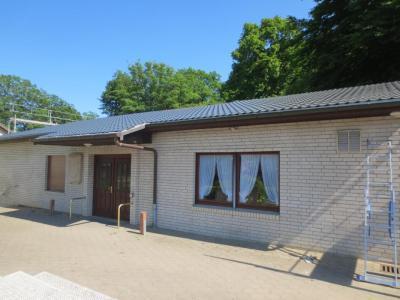 Foto zur Meldung: Neues Dach für unser Schützenheim