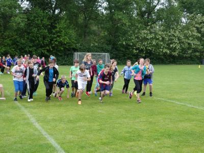 """Foto zu Meldung: Sponsorenlauf in der Grundschule """"Teupitz am See"""""""