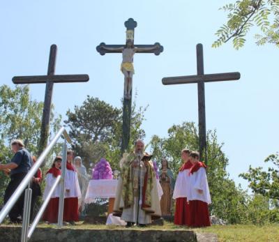 Foto zur Meldung: 3. Evangelium auf dem Kalvarienberg