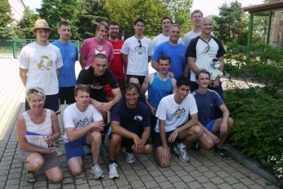 Die Männerriege bis M 35 von 2012