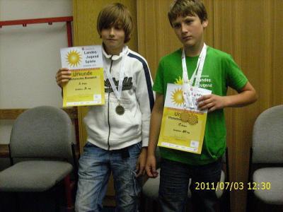 Teilnehmer der Landesjugendspiele