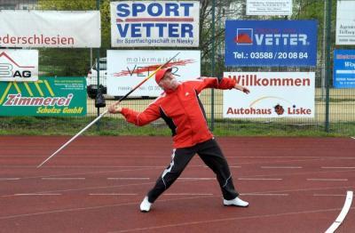 Nieskyer Wurfasse Dauerbrenner Peter Hennig (M70) war 1968 erster Dreikampfsieger und erneut erfolgreich