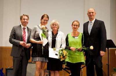 Foto zur Meldung: Verleihung des brandenburgischen Lehrerinnen- und Lehrerpreises 2014