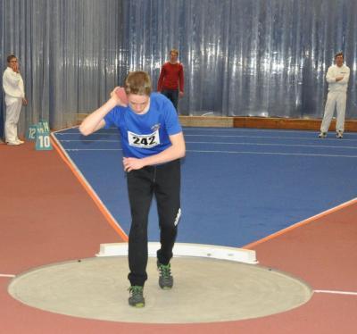 Foto zu Meldung: Gute Ergebnisse und Medaillen bei den Landeshallenmeisterschaften