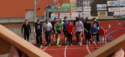Start des Zehn-Uhr-Laufes