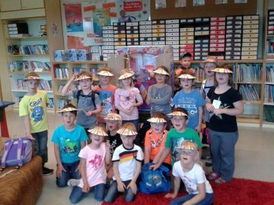 Foto zur Meldung: Vorgezogener Schultag in der Grundschule