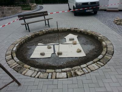 Foto zur Meldung: Neues vom Dorfplatz ...