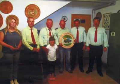 Foto zur Meldung: Ehrung der Vereinsmeister beim Jahrtag der Bergschützen