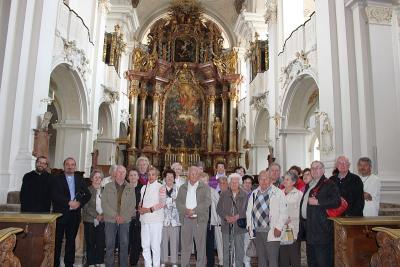 Foto zur Meldung: Senioren besuchten die Abtei Niederaltaich