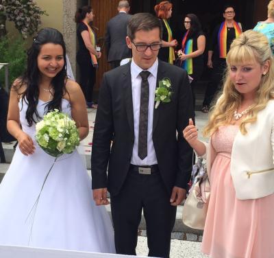 Foto zu Meldung: Florian und Michelle sind jetzt ein Paar