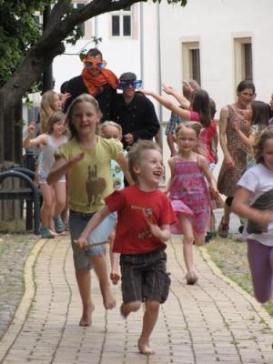 Foto zur Meldung: Sommerfest der KINDERKIRCHE