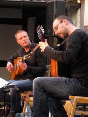 Foto zur Meldung: Jochen Roß und Malte Vief