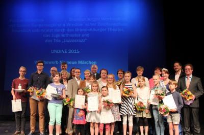 Foto zur Meldung: Klasse 5l erfolgreich am Undinewettbewerb teilgenommen
