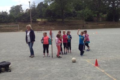 Foto zur Meldung: Sportlicher Kindertag in Ruppersdorf