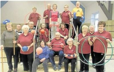 Foto zur Meldung: TuS: Senioren sind seit 20 Jahren gemeinsam in Bewegung