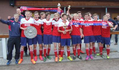 Foto zur Meldung: A-Junioren Kreismeister Saison 2014/15
