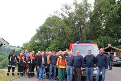 Foto zur Meldung: Das neue Feuerwehrauto ist da – Gesamtkosten 108 000 Euro