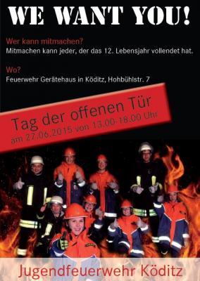 Vorschaubild zur Meldung: Tag der offenen Tür der Feuerwehr-Jugend