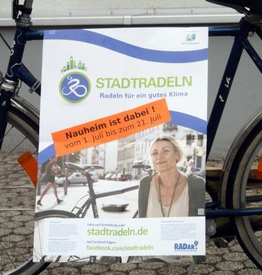 Foto zu Meldung: Aktion Stadtradeln startet am 1. Juli - Nauheim ist dabei