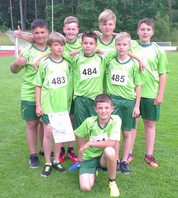 Foto zur Meldung: Landesfinale der Leichtathletik im Land Brandenburg ausgetragen in Löwenberg