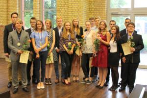 Foto zur Meldung: Sarah Arndt ist die beste Abiturientin der Stadt Brandenburg
