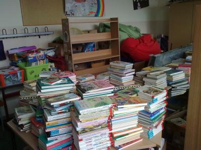 Foto zur Meldung: Neues aus der Schulbibliothek