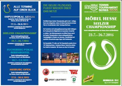Foto zur Meldung: Tennis - Möbel Hesse Seelzer Championship