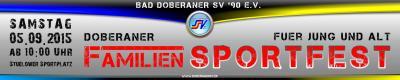 Foto zur Meldung: Sportfest des Doberaner SV´90 e.V. am 05.09.2015