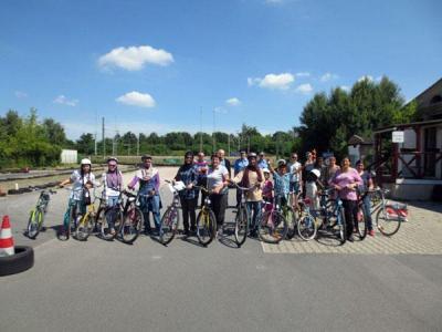 Foto zu Meldung: 4. Fahrradkurs für Frauen - Helferinnen gesucht