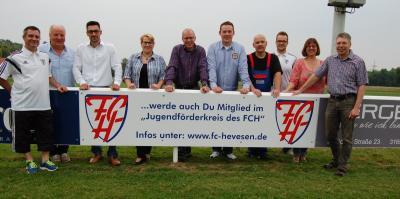 Foto zur Meldung: Sponsorenabend beim FC Hevesen
